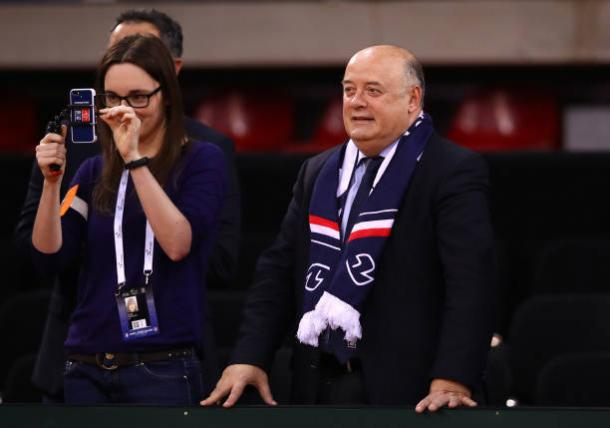Bernard Giudicelli has previously been unenthusiastic about handing Sharapova a wildcard (Getty/Clive Brunskill)