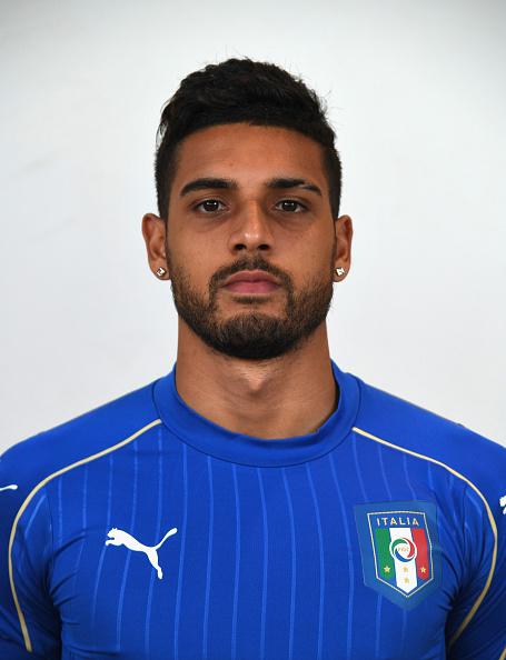 Emerson com camisa da Itália (Foto: Claudio Villa/Getty Images)