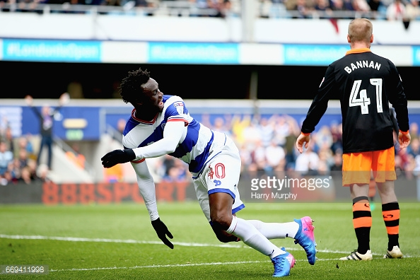 Idrissa Sylla grabbed an equaliser against Forest in November. (picture: Getty Images / Harry Murphy)