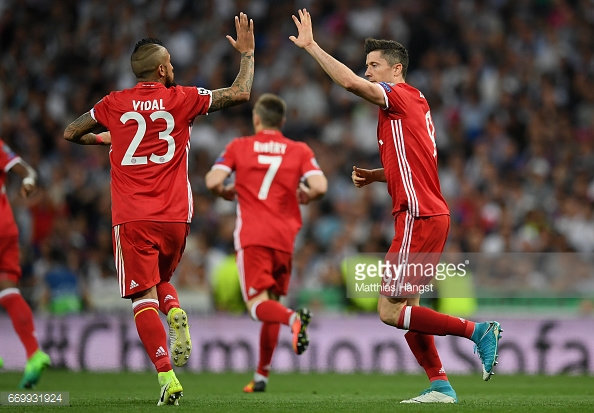 Bayern Munich took Madrid to extra-time in the quarter-finals. (picture: Getty Images / Matthies Hangst)
