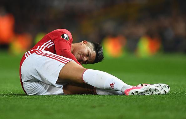 Rojo foi uma das vítimas da lesão no joelho (Foto: Getty Images)