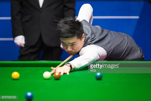Ding is hunting his first World Championship (photo: Getty Images)