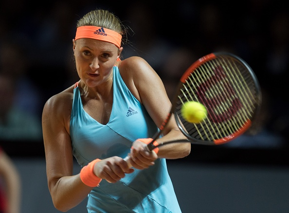 Mladenovic on a roll with the early break | Photo: Anadolu Agency/Getty Images