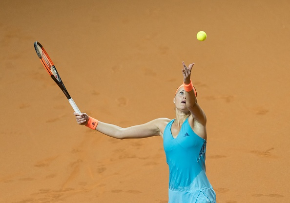 Mladenovic looking brighter of the two | Photo: Anadolu Agency/Getty Images