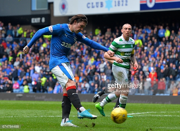 Rangers winger Josh Windass got himself on the scoresheet at Hillsborough. (picture: Getty Images / Mark Runnacles)