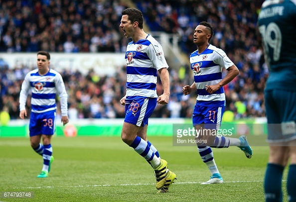 Kermorgant scored 19 goals for Reading last season. (picture: Getty Images / Ben Hoskins)