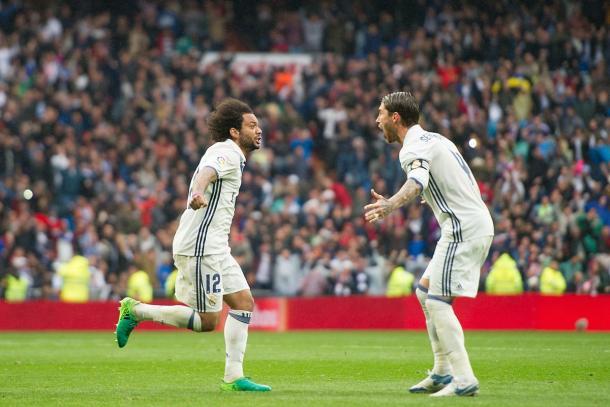 Marcelo salva il Real Madrid nel finale: battuto il Valencia 2-1