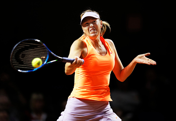 Sharapova was solid throughout the first set | Photo: Adam Pretty/Bongarts/Getty Images