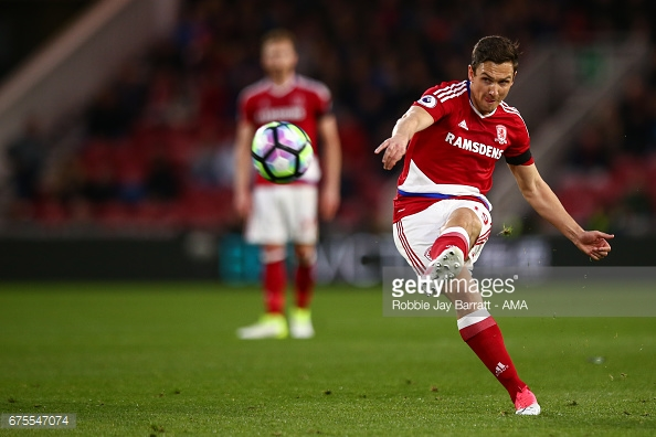 Downing's time at Boro appears to be over. (picture: Getty Images / Robbie Jay Barratt - AMA)