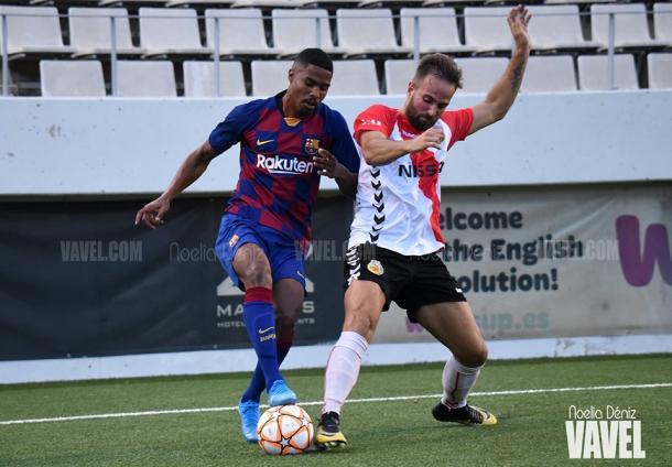 Gabriel Novaes con la posesión del balón. FOTO: Noelia Déniz