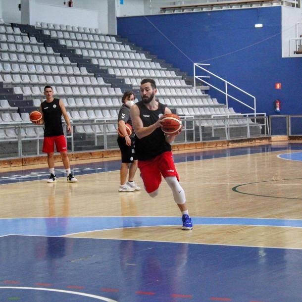 Faggiano, durante un entrenamiento | Foto: @lfaggiano12