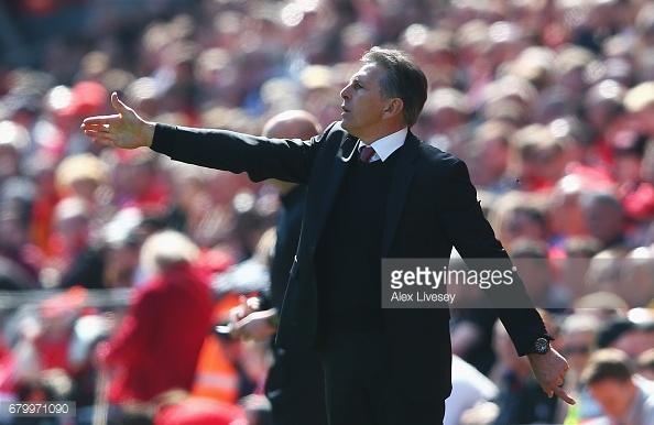 Will Puel still be in the Southampton hot seat come August? Photo: Getty.