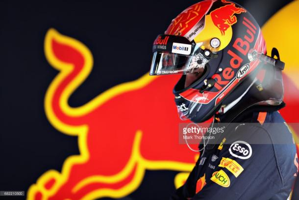 Verstappen kept quiet about upgrades.   Photo: Getty Images/Mark Thompson