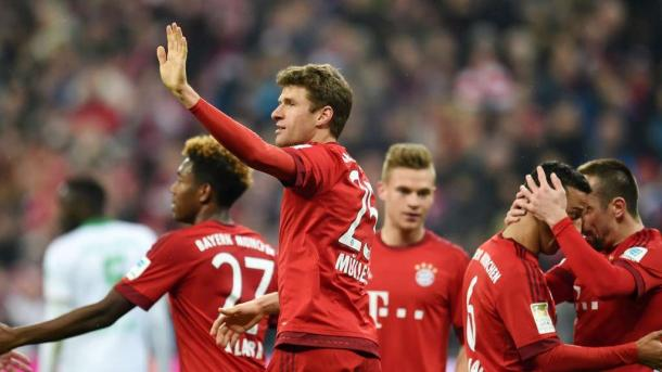 Thomas Müller scored twice in last season's 5-0 win. | Photo: TZ/DPA