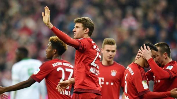 Thomas Müller scored twice in last season's 5-0 win. | Photo: TZ/DPA
