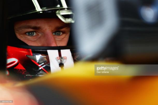 Hulkenberg has shown promising pace all weekend thus far. | Photo: Getty Images/Dan Istitene