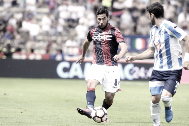 Saphir Taïder during one of many spells with Bologna. | Photo: Mario Carlini / Iguana Press / Getty Images