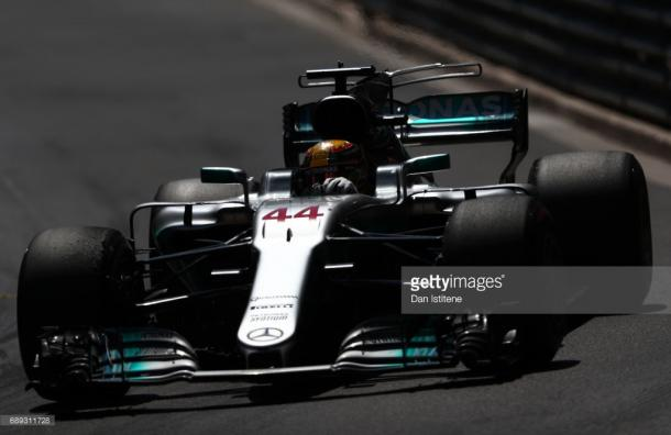 Hamilton fought his way to seventh. | Photo: Getty Images/Dan Istitene