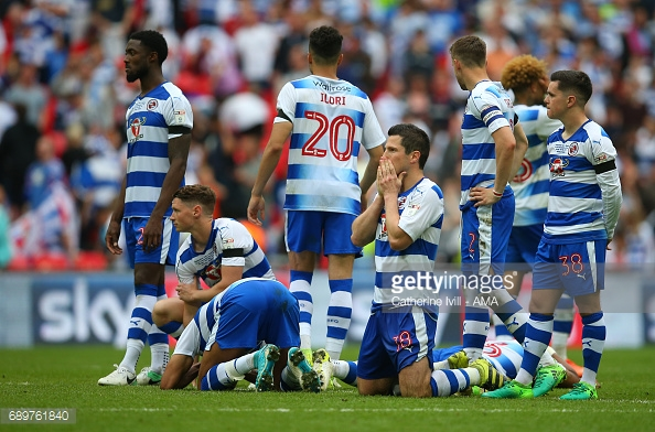 Reading were denied a place in the Premier League on penalties in the play-off final. (picture: Getty Images / Catherine Ivill - AMA)
