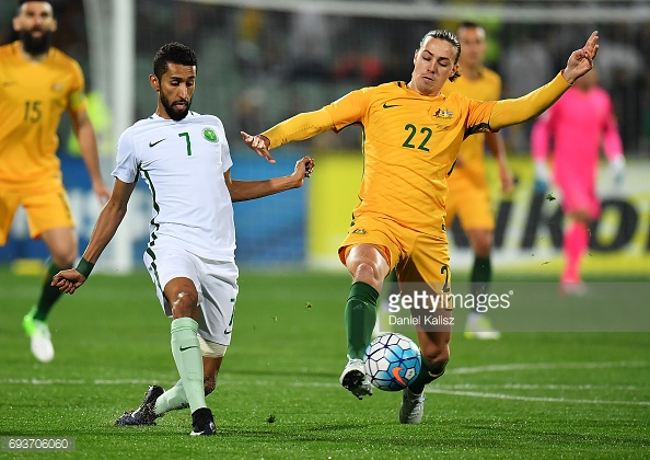 Irvine is now a key player for the Australian national team. (picture: Getty Images / Daniel Kalisz)