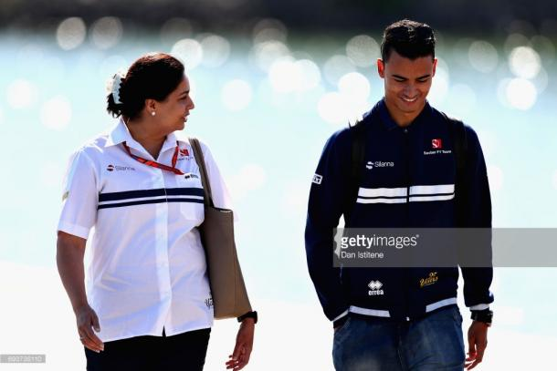 Kaltenborn was keen for Wehrlein to be treated equally to Ericsson. | Photo: Getty Images/Dan Istitene