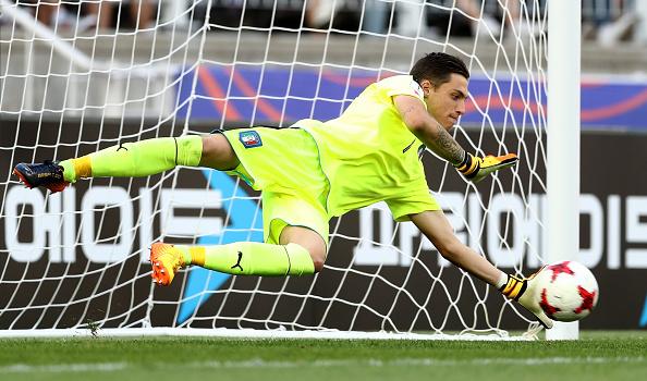 Plizzari é o goleiro da Seleção Italiana Sub-20 (Foto: Lars Baron/Fifa via Getty Images)