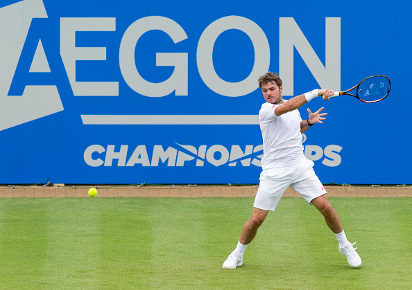 Aegon Championship: Nick Kyrgios retires injured after first set against Donald Young