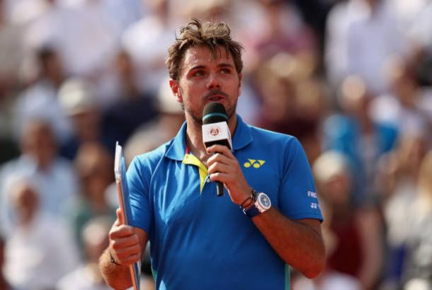 Stan Wawrinka after his French Open final defeat (Getty/Julian Finney)