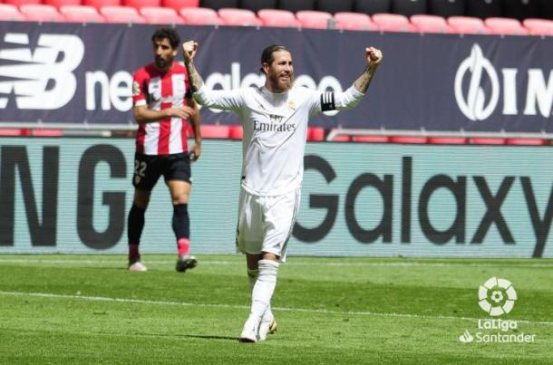 Sergio Ramos, capitán del Real Madrid | Fuente: LaLiga