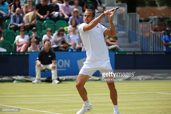 Marius Copil will be looking to make Sunday's final tomorrow. (picture: Getty Images / David Kissman)