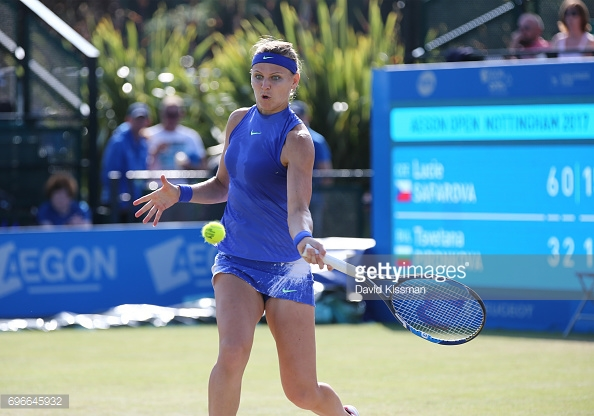 Lucie Safarova could face Konta in Sunday's final. (picture: Getty Images / David Kissman)