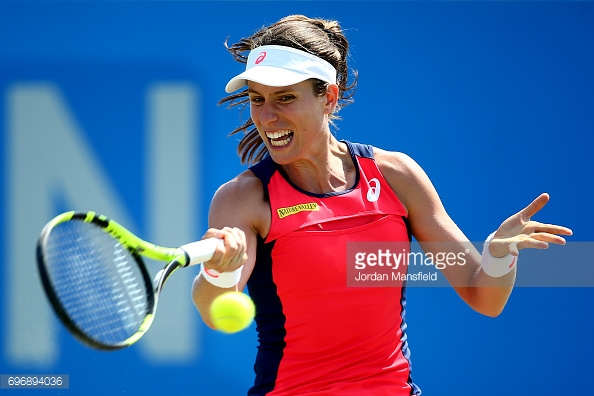 Konta has already made history in this tournament. (picture: Getty Images / Jordan Mansfield)