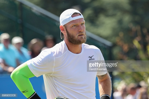 Groth allowed his frustrations to get the better of him. (picture: Getty Images / David Kissman(