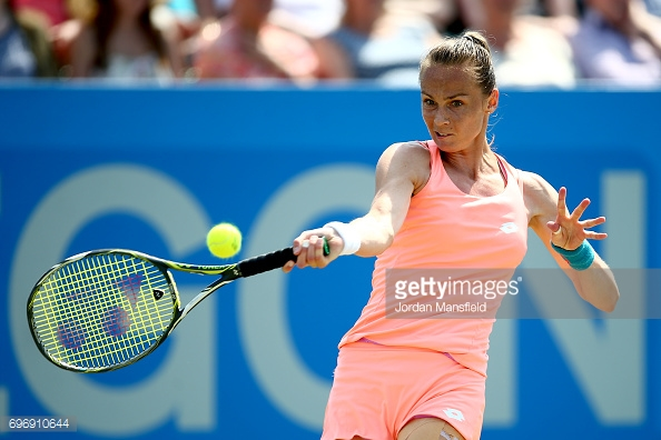Rybarikova did show some spirit in the second set. (picture: Getty Images / Jordan Mansfield)