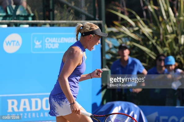 Vekic impressed throughout this match. (picture: Getty Images / David Kissman)