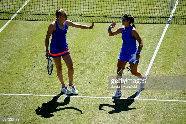 Robson and Rae have been playing together for a short amount of time. (picture: Getty Images / Jordan Mansfield)