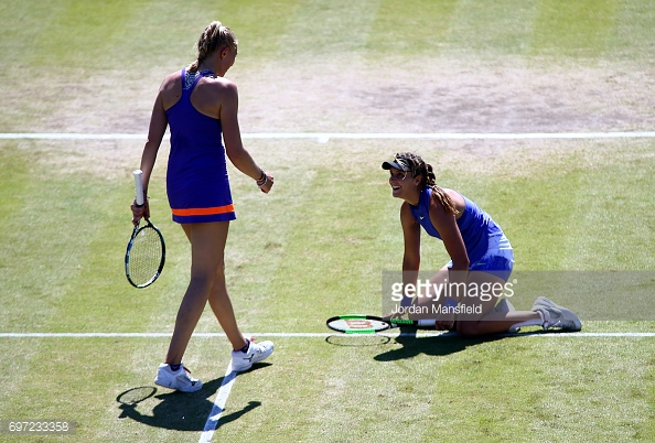 Robson and Rae are also very good friends off the court. (picture: Getty Images / Jordan Mansfield)