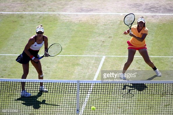 Adamczak and Saunders showed that they are a solid partnership. (picture: Getty Images / Jordan Mansfield)