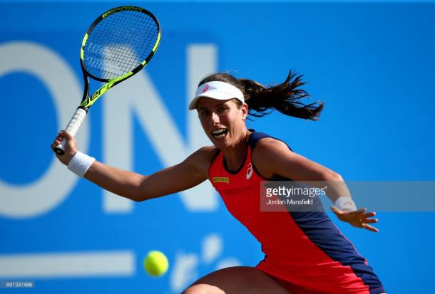 Johanna Konta is set to feature in Nottingham once again. (picture: Getty Images / Jordan Mansfield)