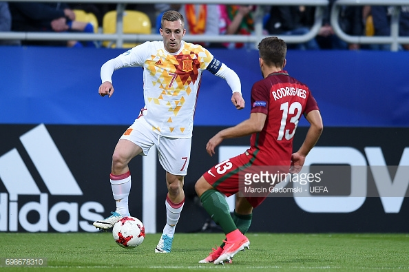 Deulofeu orchestrated a second to put Spain in cruise control (photo: Getty Images)