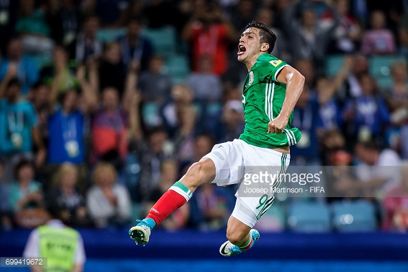 Mexico came from behind to beat New Zealand 2-1. (picture: Getty Images / Joosep Martinson - FIFA)