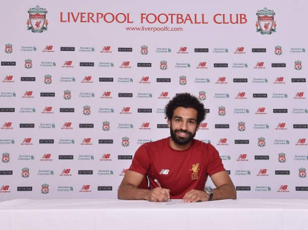 Salah é o principal reforço do Liverpool (Foto: Getty Images)