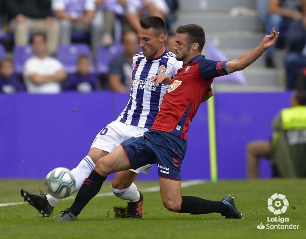 Fede forcejea con un jugador del Osasuna | LaLiga