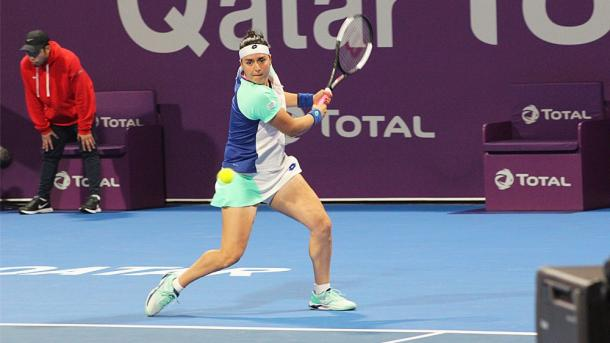 Jabeur hopes to see more Arab women in tennis in the future based on her success/Photo: Saba Aziz/Al-Jazeera