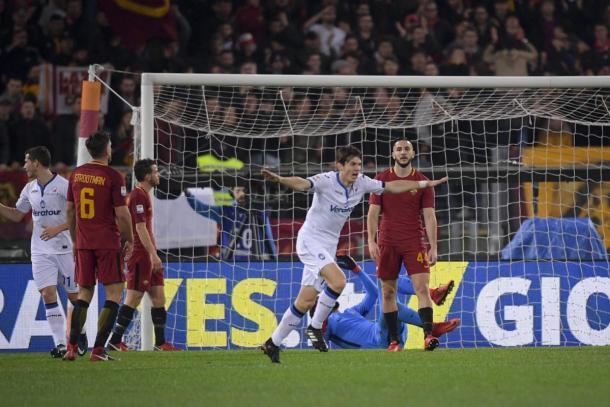 La Roma sufrió una dolorosa derrota en casa frente al Atalanta   Foto: AS Roma