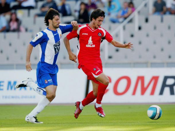 Imagen del Getafe - Espanyol de la temporada 2006/2007 // Fuente: RCD Espanyol