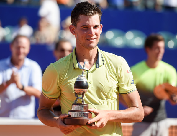 Dominic Thiem was victorious in Buenos Aires last week. Photo: Marcelo Endelli/Getty Images