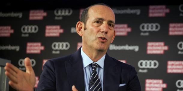 Don Garber. Photo by Getty Images