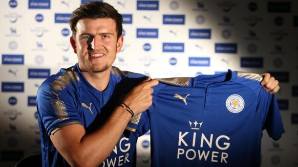 Maguire fichó por Leicester | Foto: Leicester City
