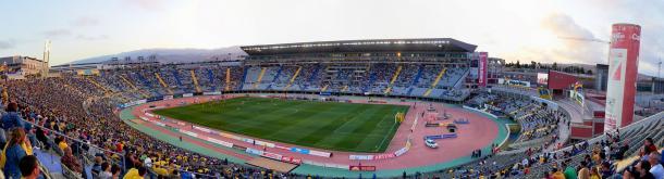 Estadio de Gran Canaria. Fuente: Flickr Sasha Uding